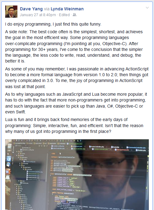 DaveYang-FB-Post-Programing